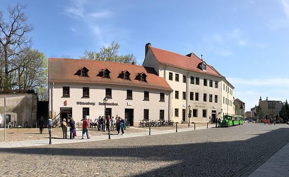 Tourist-Information am Schlossplatz, Foto: Stadt Wittenberg