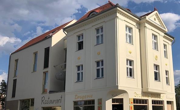 Restaurant Die Drogerie Senftenberg, Außenansicht, Foto: Die Drogerie Senftenberg, Richter