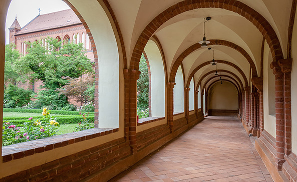 Kreuzgang Kloster Lehnin, Foto: Jedrzej Marzecki