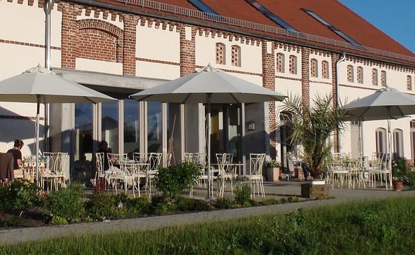 Sonnenterasse Café Monet, Foto: Landhaus Ribbeck