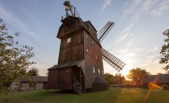 Windmühle in Petkus, Foto: Jedrzej Marzecki