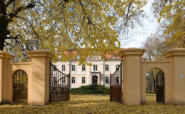 Herbstidylle auf Schloss Stülpe, Foto: Barbara Rupilius