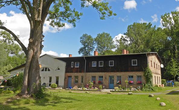Altes Kutschenhaus in Eichhorst/Wildau, Foto: Anke Bielig