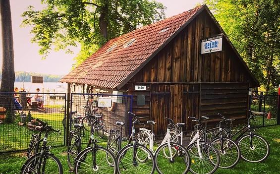 """Fahrradvermietung """"Am Werbellinsee"""" – Station """"An der EJB"""""""