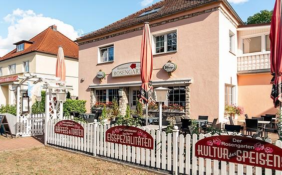 """Café und Restaurant """"Rosengarten"""""""