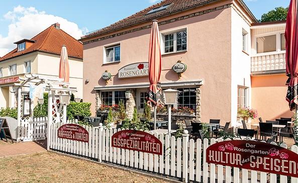 "Café Rosengarten in Wandlitz, Foto: Restaurant ""Rosengarten"" UG"
