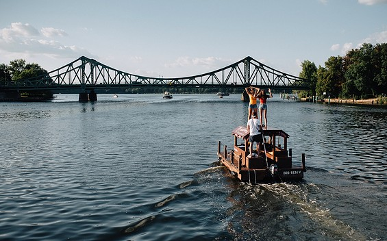 Huckleberrys Tour - Raft station Potsdam