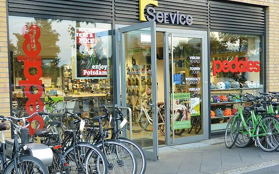 Pedales – Fahrrad- und E-Bike-Vermietung, Hauptbahnhof Potsdam