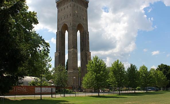 Wasserturm Finow, Foto: K.-D. Laffin