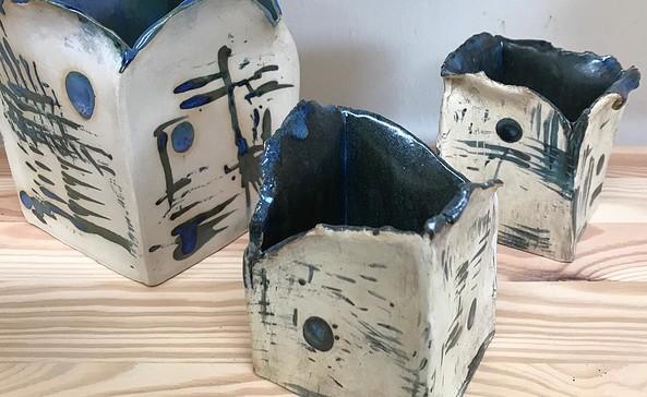 Keramikobjekte aus den Atelier unikatum, Foto: Kerstin Bode