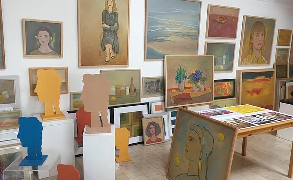 Blick ins Atelier Gericke, Foto: Lothar Gericke