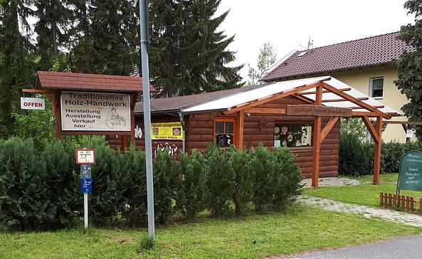 Das kleinste Sägewerk Brandenburgs in Tiefensee, Foto: Familie Eillitz