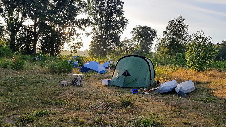 Wilde Heimat Campingplatz Ruppiner Seenland Furstenberg Havel