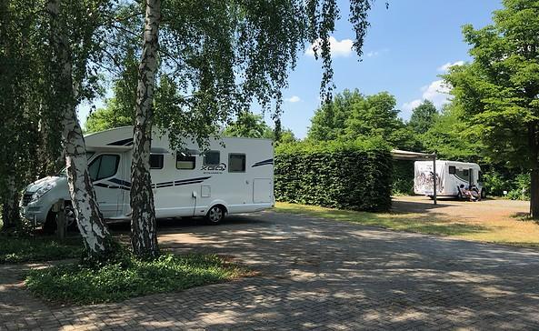 Caravanstellplatz im Spreeauenpark, Foto: CMT Cottbus