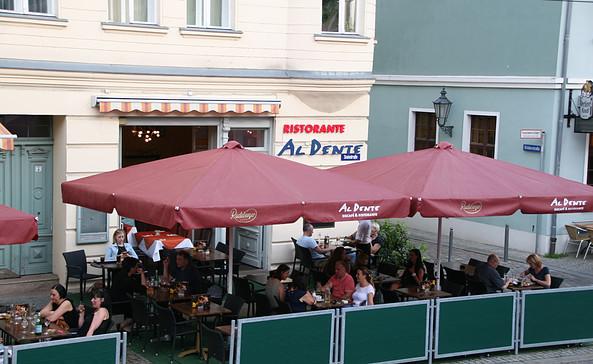 Restaurant Al Dente Terrasse, Foto: Al Dente