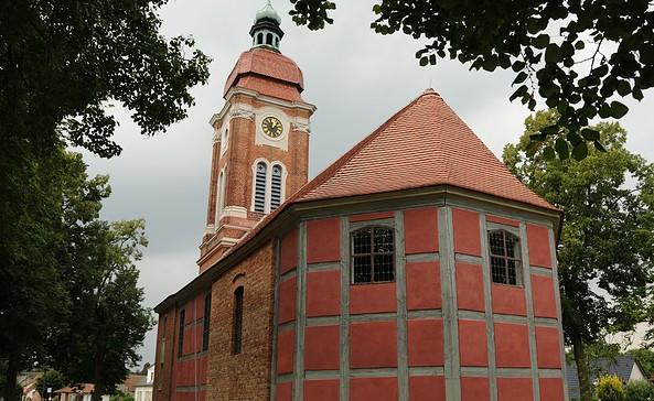 Kirche Ferchesar, Foto: Matthes Mustroph