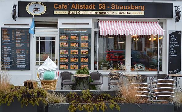 Café Altstadt 58, Foto: Stadt- und Touristinformation Strausberg