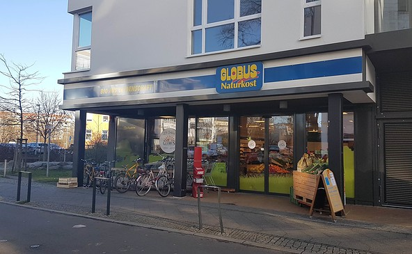 Globus Naturkost, Foto: Stadt Eberswalde