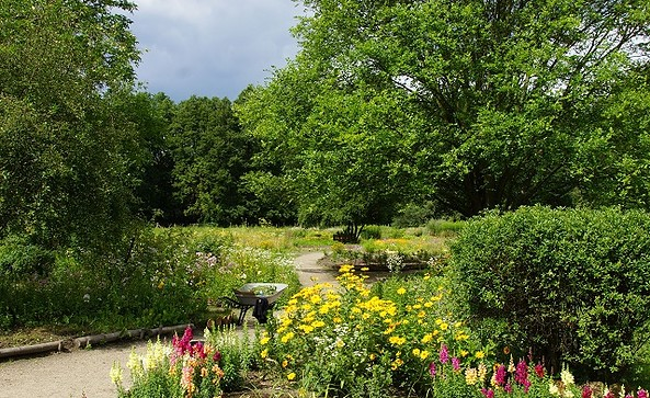 Gartenpanorama, Foto: Spreewald Kräuterey