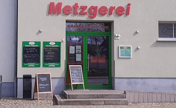 Krabat Metzgerei Außenansicht, Foto: Touristinformation Burg im Spreewald