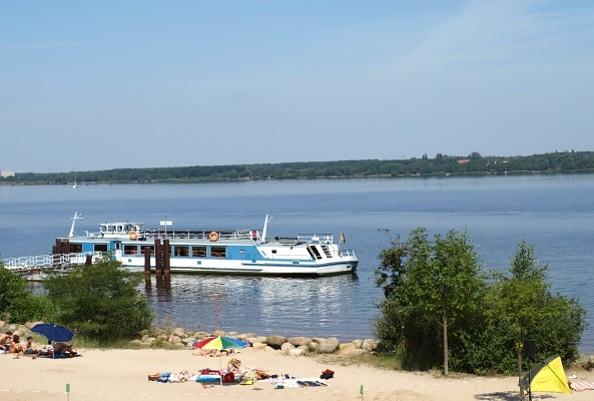 Badestelle Senftenberger See, Foto: Zweckverband Lausitzer Seenland Brandenburg