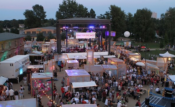 Veranstaltungsplatz - Open-Air-Bühne, Foto: Sebastian Gabsch