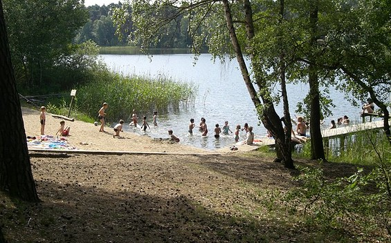Badestelle 2, Foto KiEZ Frauensee