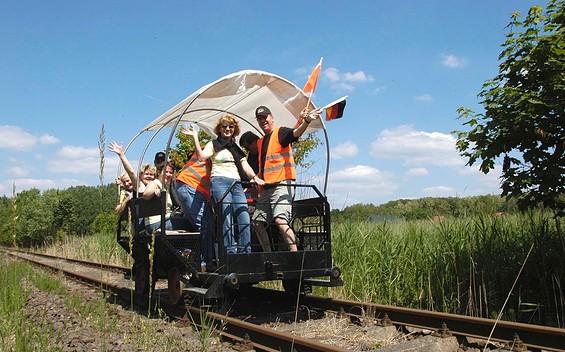 Draisine - Erlebnisbahn Zossen-Mellensee