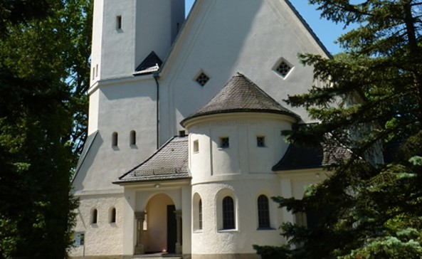 Martin Luther Kirche Zeuthen, Foto: TV Dahme-Seen