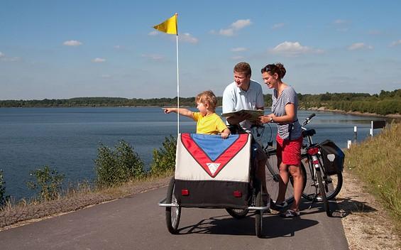 Radtour um den Senftenberger See