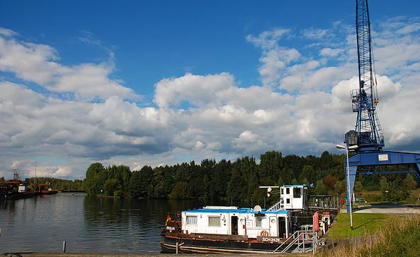 Hafen und Tankstelle Königs Wusterhausen © Christin Drühl