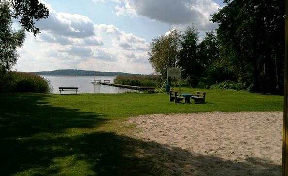 Badestelle und Wasserwanderrastplatz Wolzig, Foto: Tourismusverband Dahme-Seen e.V.