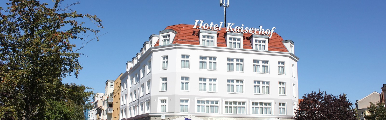 Kaiserhof in the city center, photo: Seenland Oder-Spree