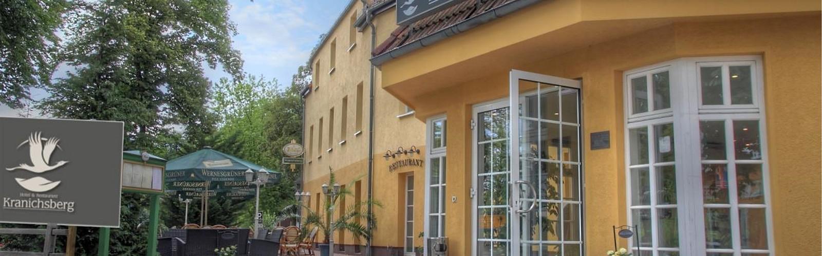 Entrance, photo: Hotel & Restaurant Kranichsberg