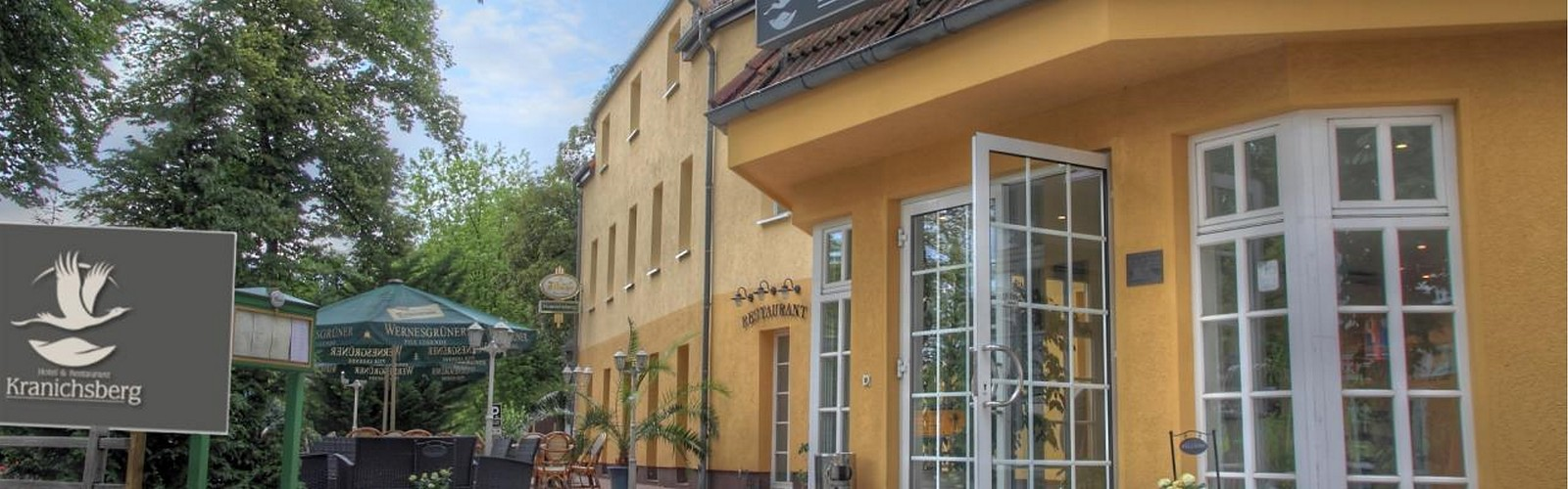 Eingang, Foto: Hotel & Restaurant Kranichsberg