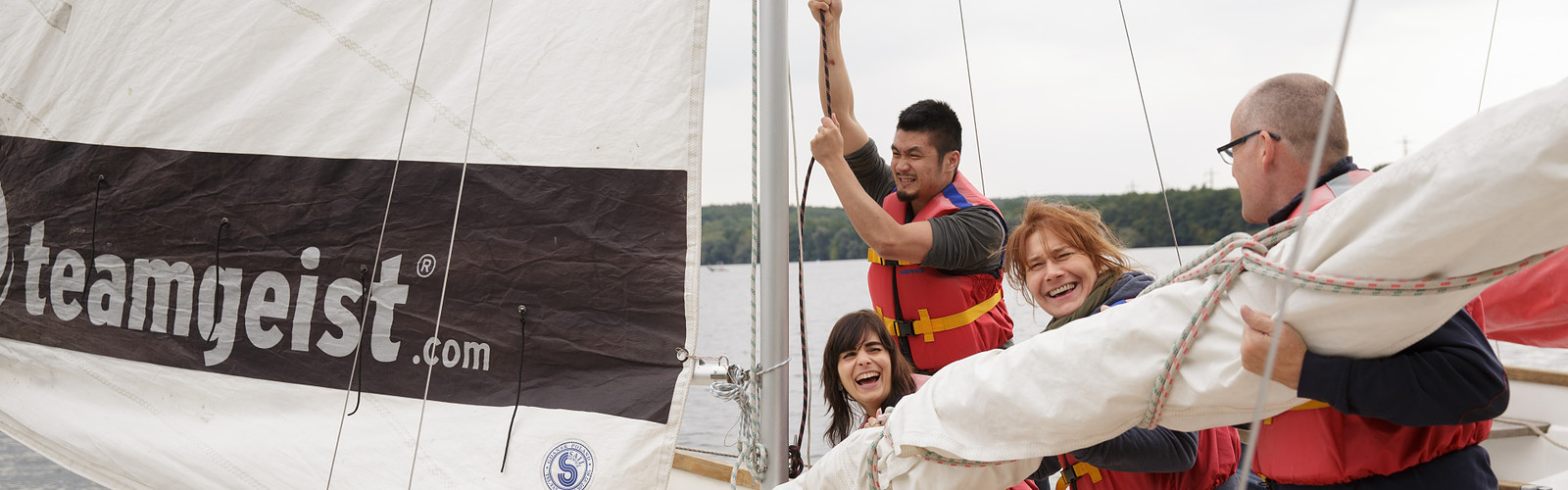 Sailing Event @ Teamgeist GmbH