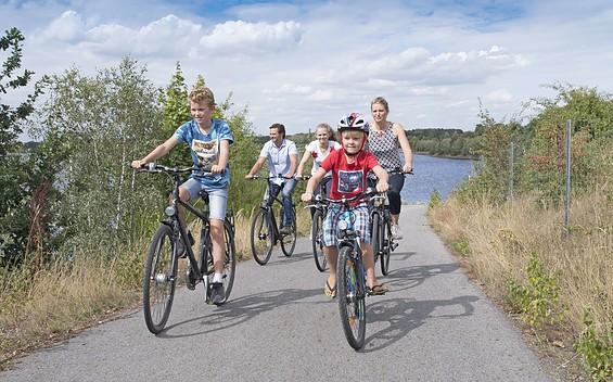 Rätsel-Radtour um den Senftenberger und Geierswalder See