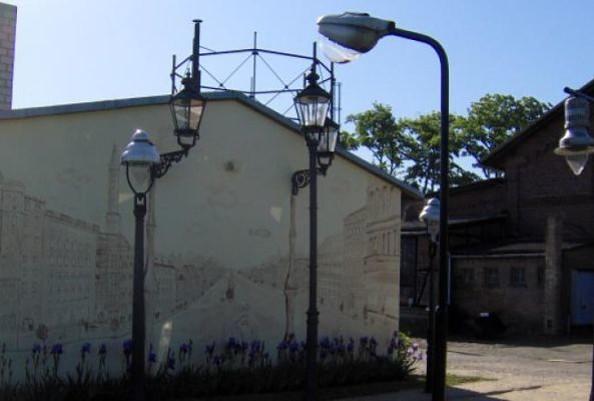 Technisches Denkmal Gaswerk Neustadt (Dosse) - Gaslampen