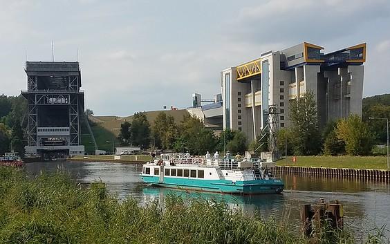 Schiffshebewerke Niederfinow