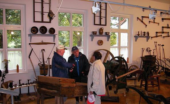 Dorfmuseum Friedrichsaue, Foto: Touristinformation Seelow