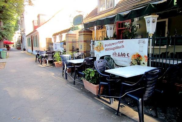"""Restaurant """"Paros"""", Foto: Ronald Koch"""