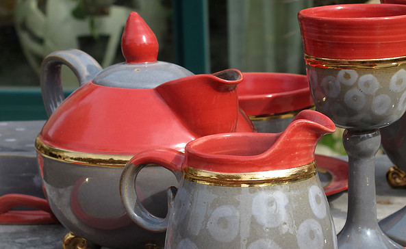 Keramikatelier im Roten Haus, Foto: Heike Zappe