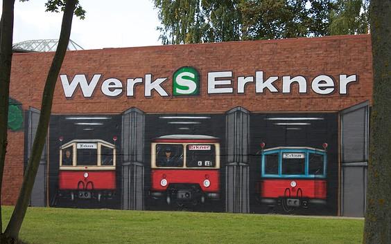 Historische S-Bahnfahrzeuge in Erkner