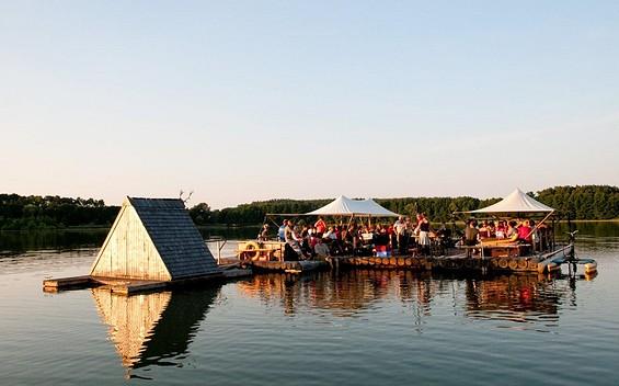 Treibholz - Floßfahrten, raft tours