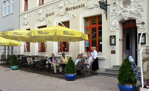 """Restaurant im Hotel """"Germania"""" (Wittenberge)"""