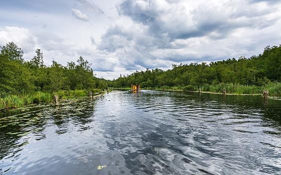 Floßtour von Fürstenberg/Havel zum Canowsee