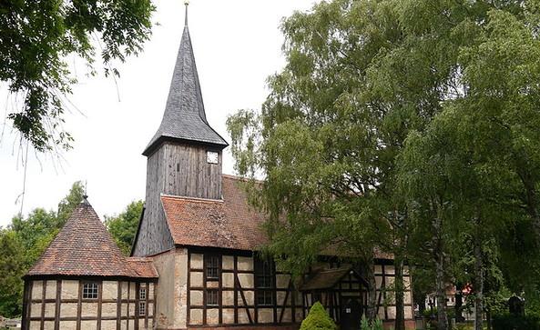 Kirche Markee, Foto: Tourismusverband Havelland e.V.