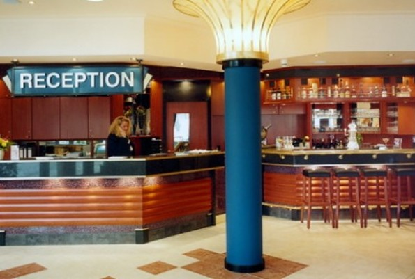 Rezeption © City Park Hotel