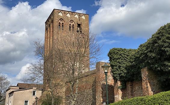 Der Steintorturm in Prenzlau