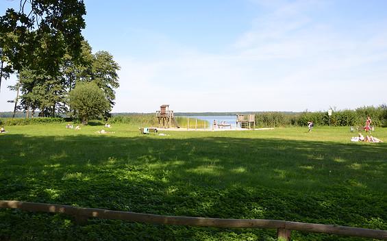 Liegewiese am Grimnitzsee